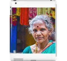 Flower Seller iPad Case/Skin
