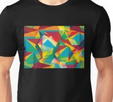 Psychedelic Polygons Unisex T-Shirt