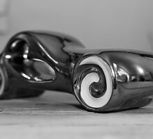 Metal car statuette by franceslewis