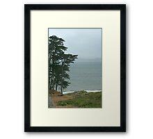 Above Baker Beach Framed Print