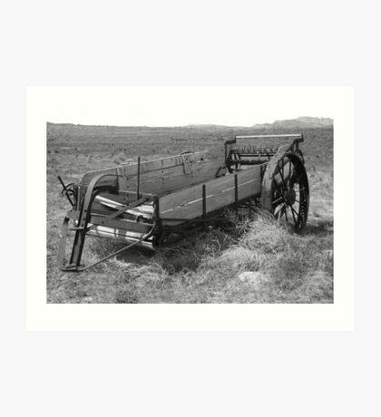 Historic Wagon Art Print