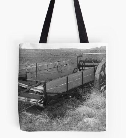 Historic Wagon Tote Bag