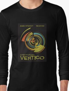 Vertigo Nod to Saul Bass Long Sleeve T-Shirt