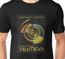 Vertigo Nod to Saul Bass Unisex T-Shirt