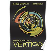 Vertigo Nod to Saul Bass Poster