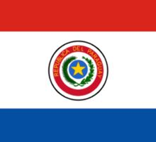 flag of Paraguay Sticker