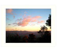 Mt. Warning Sunrise Art Print