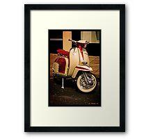 Ciao Bella Framed Print