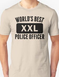 World's Best Police Officer T-Shirt