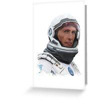 INTERSTELLAR - COOPER Greeting Card