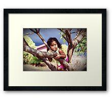 Waianae Girl Framed Print