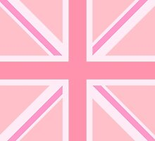 Pink Union Jack/Flag Design by NataliePaskell