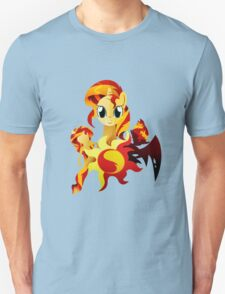 3 Forms of Sunset Shimmer Unisex T-Shirt