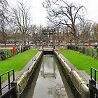 CANAL AND RIVER. by ronsaunders47