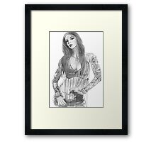 Kat Von D Framed Print
