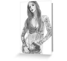 Kat Von D Greeting Card