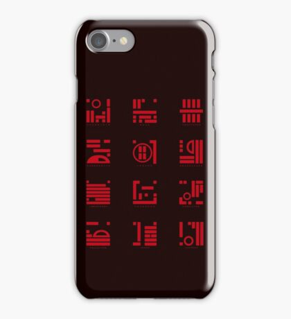 12 Vampire Tribes iPhone Case/Skin