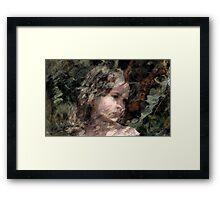 Olivia. Framed Print