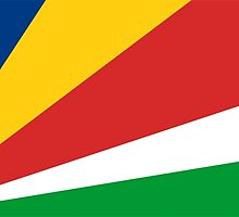 flag of Seychelles by tony4urban