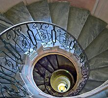 Spiral staircase - Melk - Austia by Arie Koene