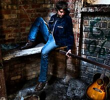 Thomas Vercera guitarist singer song writer by Daryl Gordon