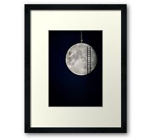I'll Take You To The Moon Framed Print