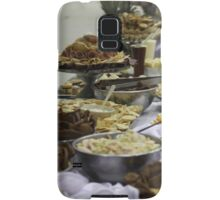 Catered Foods Samsung Galaxy Case/Skin