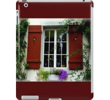Pretty Window iPad Case/Skin