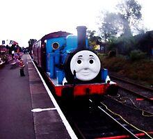 Well Thomas!! by David Smith