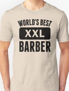 World's Best Barber T-Shirt