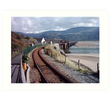 Barmouth Rail Footbridge ~ North Wales Art Print