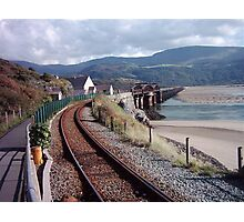 Barmouth Rail Footbridge ~ North Wales Photographic Print