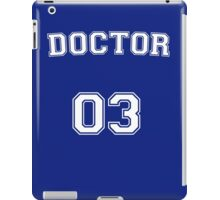 Doctor # 03 iPad Case/Skin