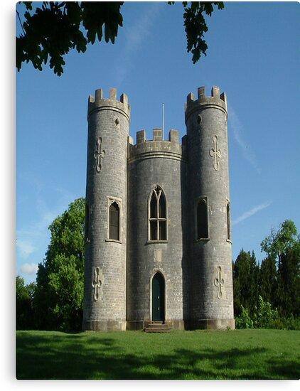 Blaise Castle's Castle, Bristol,uk by Dawn B Davies-McIninch