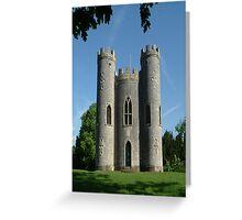 Blaise Castle's Castle, Bristol,uk Greeting Card