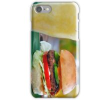 Gourmet Burger and Smoothies iPhone Case/Skin