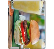 Gourmet Burger and Smoothies iPad Case/Skin