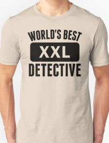 World's Best Detective T-Shirt