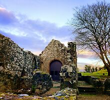 Dungiven Priory, Northern Ireland by Ludwig Wagner