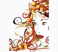Autumn Girl face 5 Unisex T-Shirt