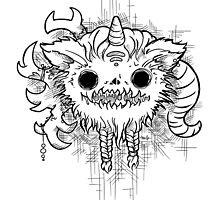 Antler Monster by tnelly