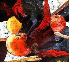 red apples by Evguenia  Men