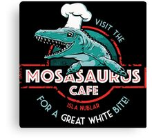 Visit the Mosasaurus Cafe Canvas Print