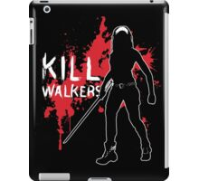 Kill Walkers (Sword) iPad Case/Skin