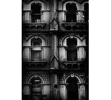 facade with windows Photographic Print