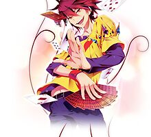 No Game no Life - Sora by IzayaUke