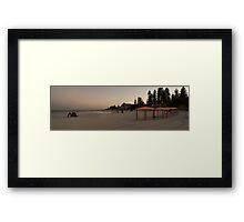 Cottesloe Art Framed Print