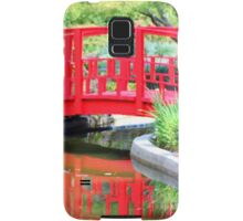 Red Bridge Samsung Galaxy Case/Skin