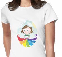 Cooking the weather Womens Fitted T-Shirt