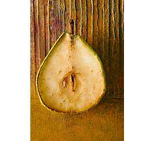 Pear Photographic Print
